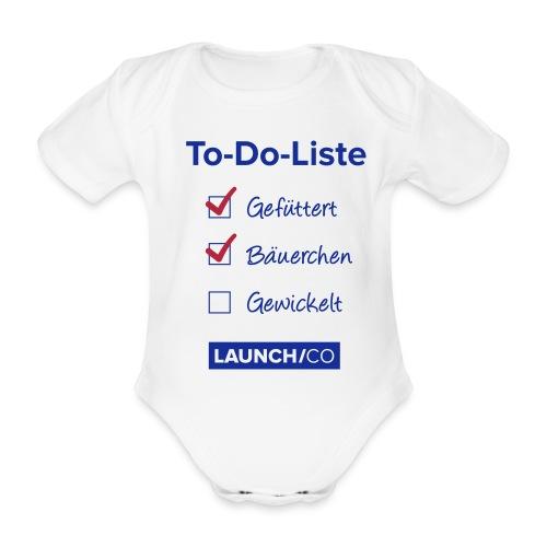 todo list tshirt pfade 1 - Baby Bio-Kurzarm-Body