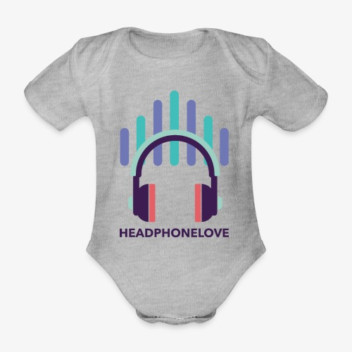 headphonelove - Baby Bio-Kurzarm-Body