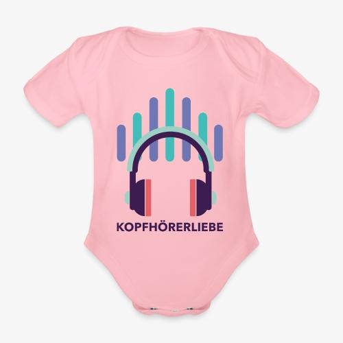 kopfhörerliebe - Baby Bio-Kurzarm-Body