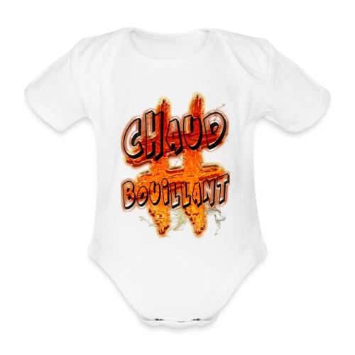 H-Tag Chaud Bouillant - Body Bébé bio manches courtes