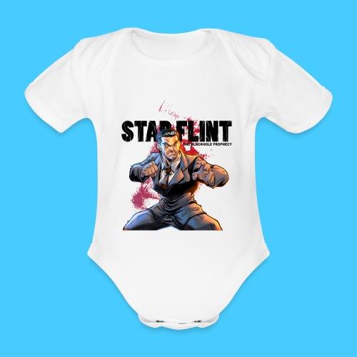 StarFlint Draco Vargas 2 - Body bébé bio manches courtes