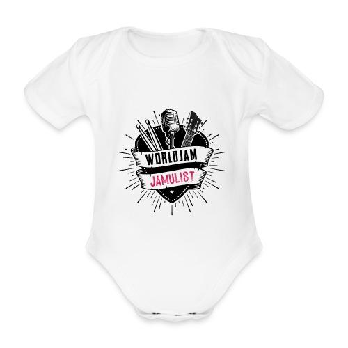 WorldJam Jamulist - Organic Short-sleeved Baby Bodysuit