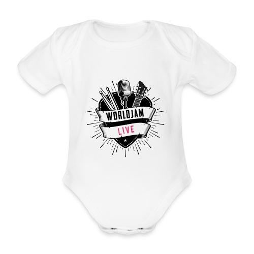 WorldJam Live - Organic Short-sleeved Baby Bodysuit