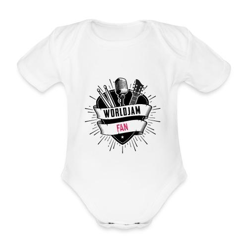 WorldJam Fan - Organic Short-sleeved Baby Bodysuit