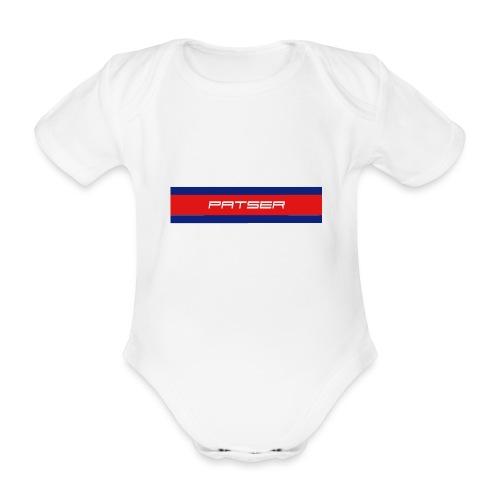 PATSER - Baby bio-rompertje met korte mouwen