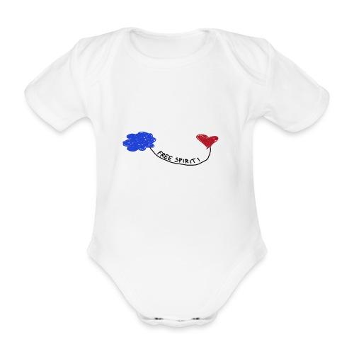 freespirit - Body ecologico per neonato a manica corta