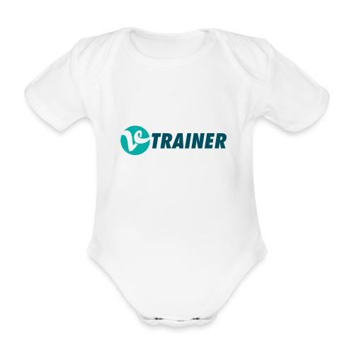 VTRAINER - Body orgánico de manga corta para bebé