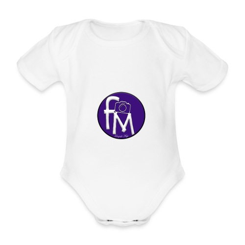 FM - Organic Short-sleeved Baby Bodysuit