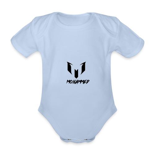 mohammed yt - Organic Short-sleeved Baby Bodysuit
