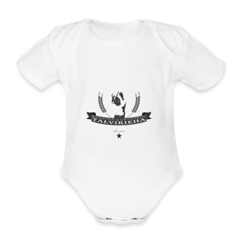 Talvirieha - Vauvan lyhythihainen luomu-body