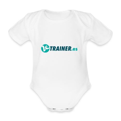 VTRAINER.es - Body orgánico de manga corta para bebé