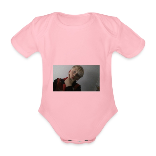 Perfect me merch - Organic Short-sleeved Baby Bodysuit