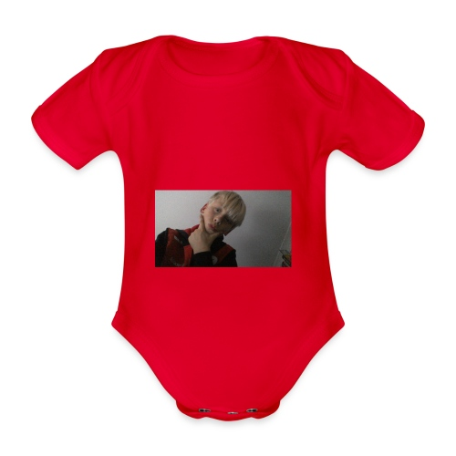 Perfect me merch - Organic Short-sleeved Baby Bodysuit