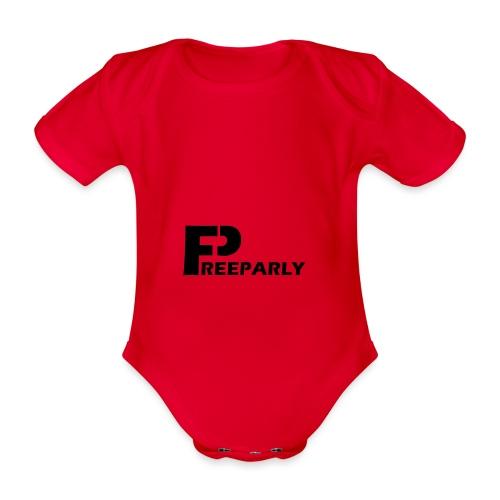 Freeparly - Baby bio-rompertje met korte mouwen
