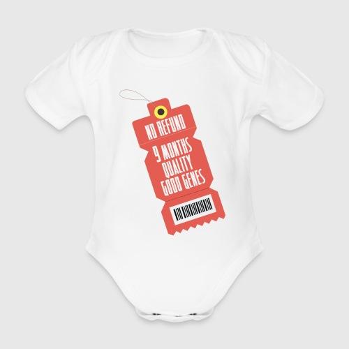 norefund png - Kortærmet babybody, økologisk bomuld