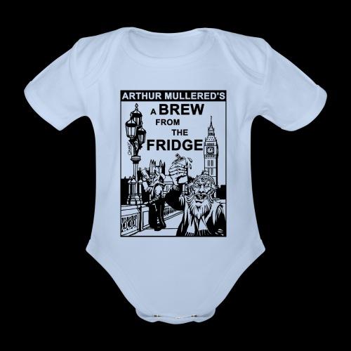 A Brew from the Fridge v2 - Organic Short-sleeved Baby Bodysuit