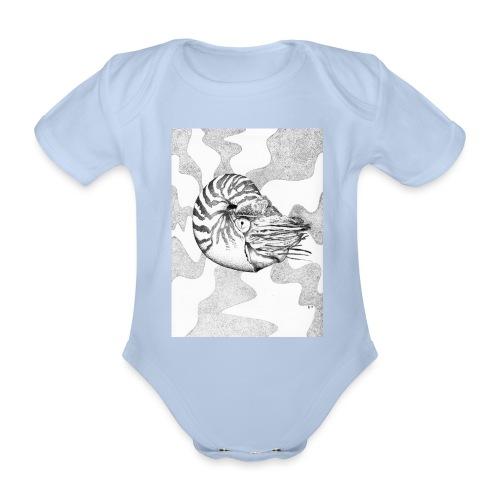 Nautilus - Organic Short-sleeved Baby Bodysuit