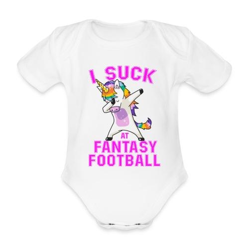 FANTASY - Ekologisk kortärmad babybody