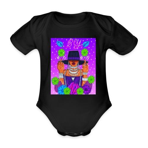 QUEEN B - Ekologisk kortärmad babybody
