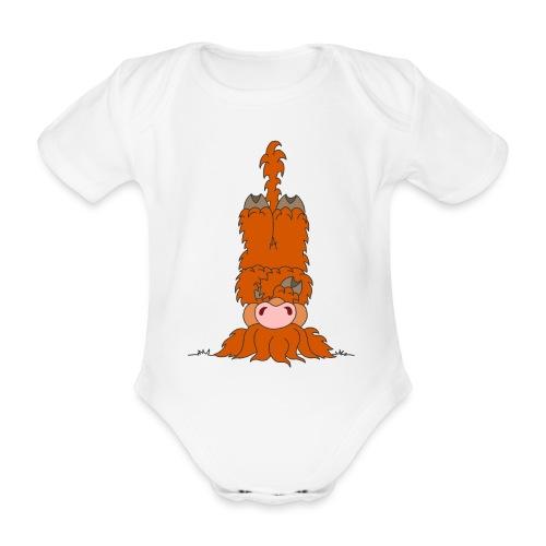 Shortcake - Kopfstand - Baby Bio-Kurzarm-Body
