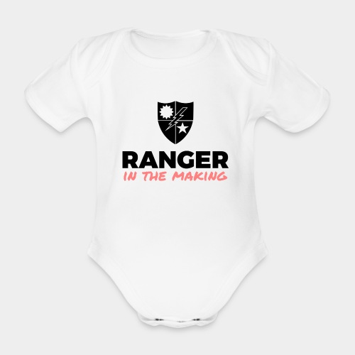 Ranger in the Making - Organic Short-sleeved Baby Bodysuit