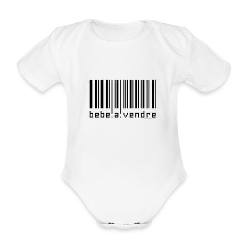 Bébé à vendre - Body Bébé bio manches courtes