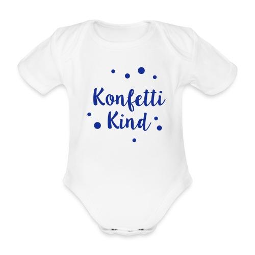 Konfettikind - Baby Bio-Kurzarm-Body