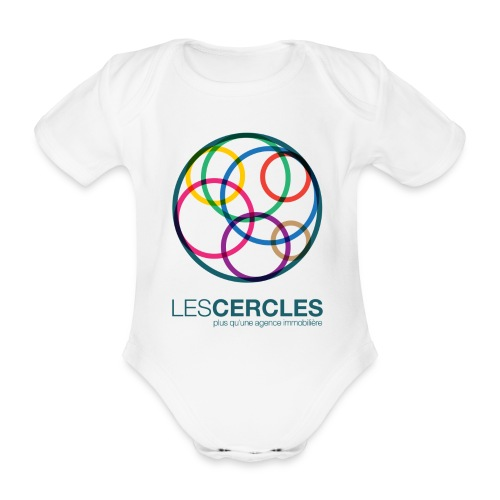 LESCERCLES 2019 Colour - Organic Short-sleeved Baby Bodysuit