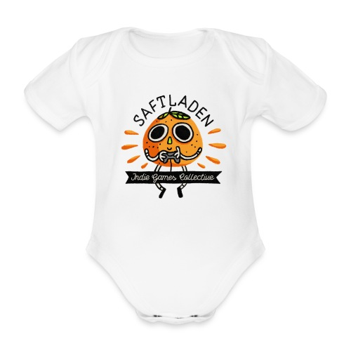 Saftladen Orange - Organic Short-sleeved Baby Bodysuit