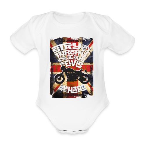 Kabes British Customs - Organic Short-sleeved Baby Bodysuit