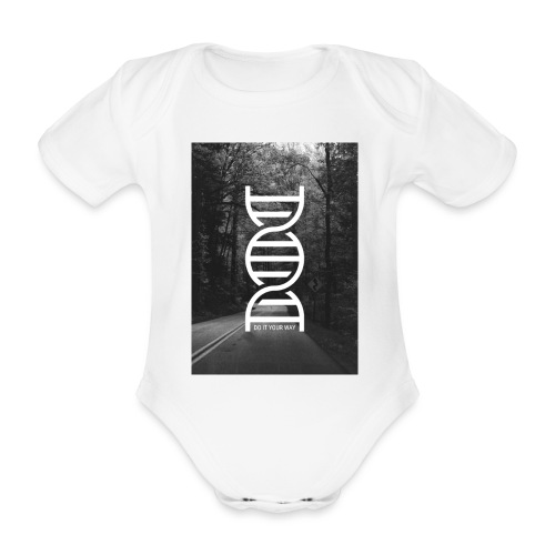 Fotoprint DNA Straße - Baby Bio-Kurzarm-Body