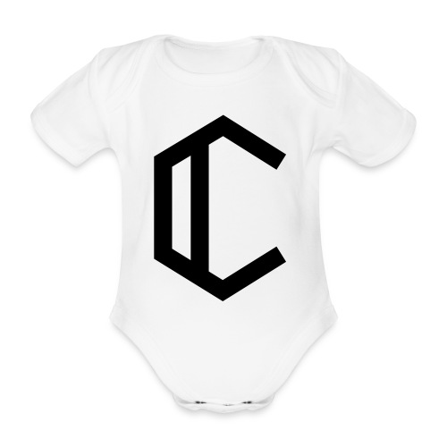 C - Organic Short-sleeved Baby Bodysuit