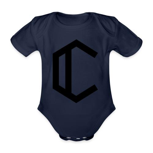 C - Organic Short-sleeved Baby Bodysuit