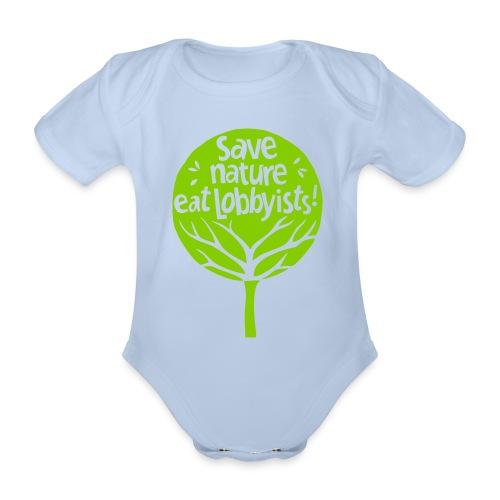 arbre - Body Bébé bio manches courtes