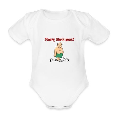 Merry christmas ! - Body Bébé bio manches courtes