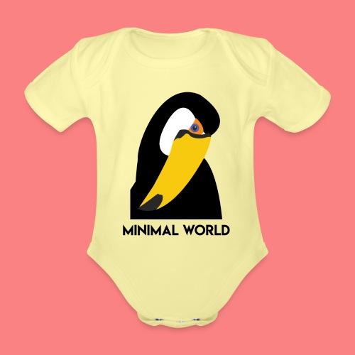TUCAN - Body ecologico per neonato a manica corta