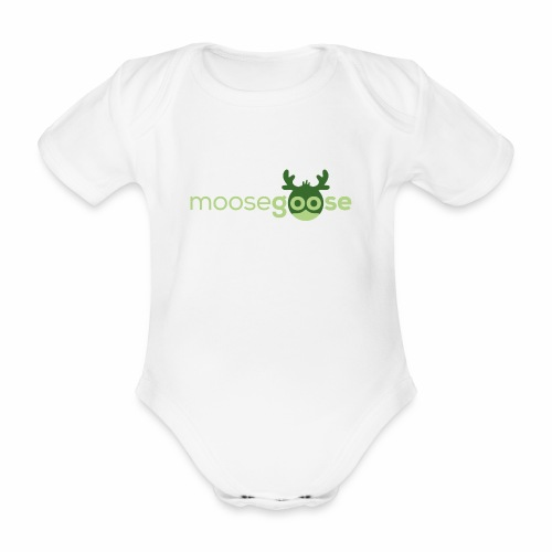 moosegoose #01 - Baby Bio-Kurzarm-Body