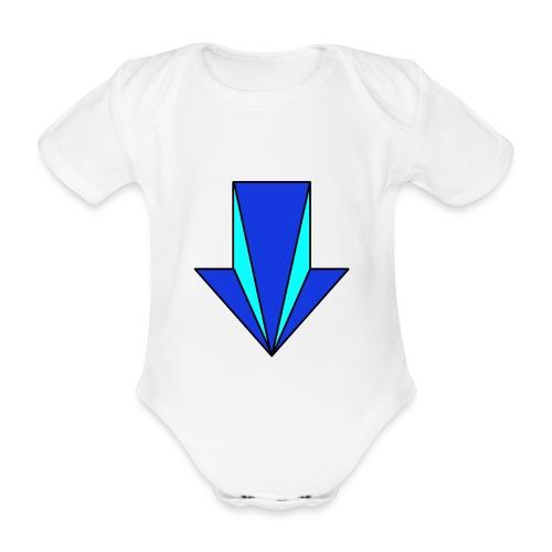 flecha - Body orgánico de maga corta para bebé