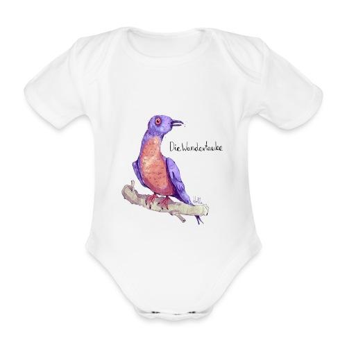 Wandertaube - Baby Bio-Kurzarm-Body