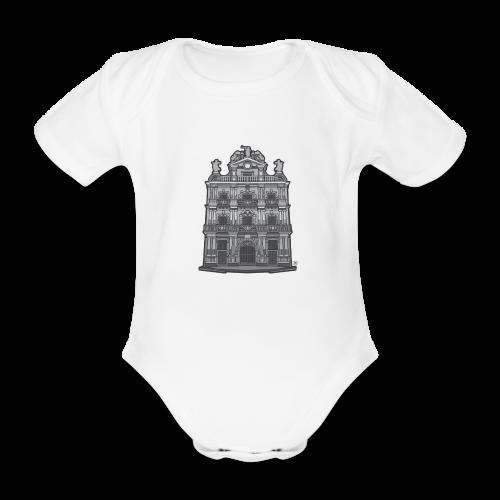 Ayuntamiento de Pamplona/Iruña - Body orgánico de maga corta para bebé