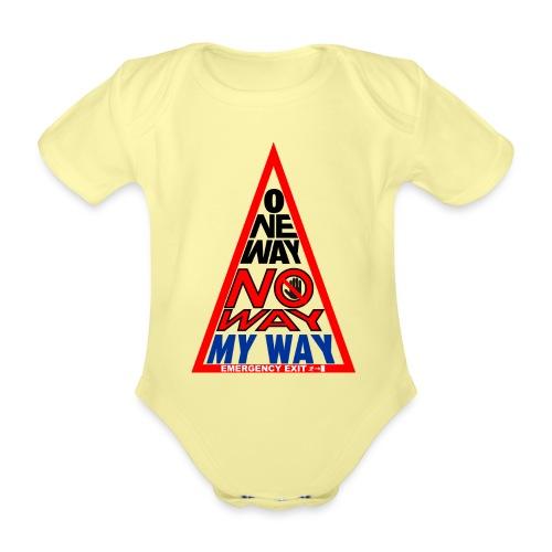No way - Body ecologico per neonato a manica corta
