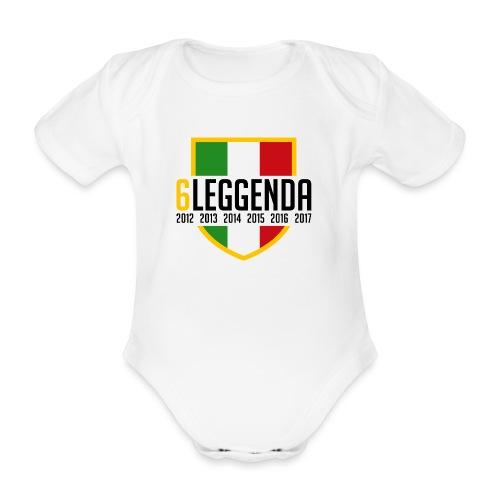 6LEGGENDA - Body ecologico per neonato a manica corta
