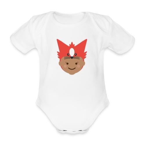 Florence the Fox | Ibbleobble - Organic Short-sleeved Baby Bodysuit