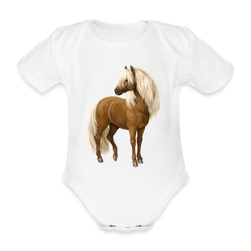 Pony Hengst - Baby Bio-Kurzarm-Body