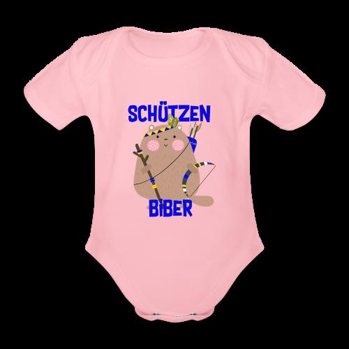 Schützenfest Biber Biberach Biberacher Schützen - Baby Bio-Kurzarm-Body