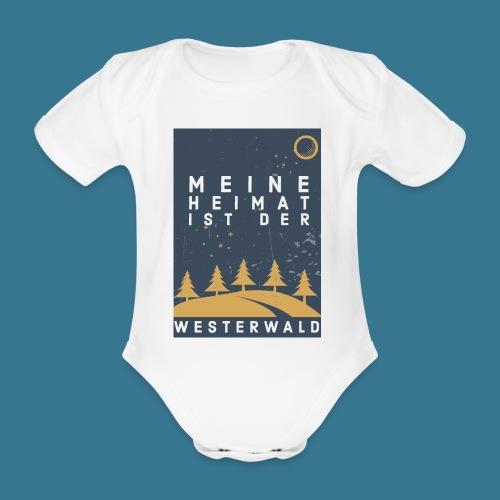 Heimatliebe Westerwald - Baby Bio-Kurzarm-Body