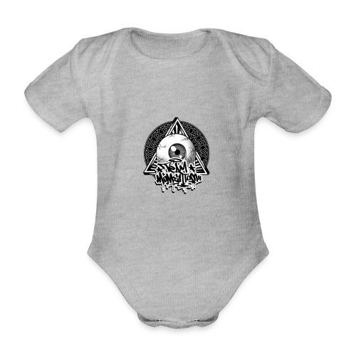 Eye Collection - Ekologisk kortärmad babybody