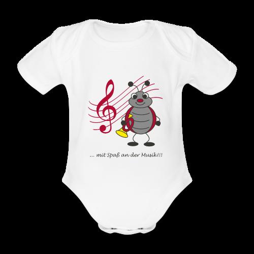 Trompi Spielmannszug Kleinröhrsdorf - Baby Bio-Kurzarm-Body