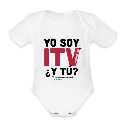 yosoyitv - Body orgánico de manga corta para bebé