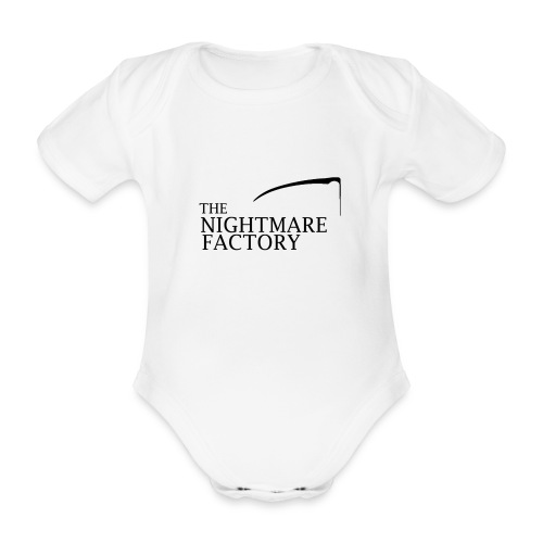 nightmare factory Nero png - Organic Short-sleeved Baby Bodysuit
